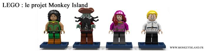 LEGO : Monkey Island